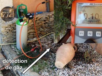 gaz traceur
