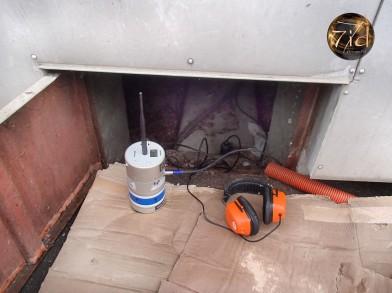 Surveillez régulièrement votre vide sanitaire pour prévenir les fuites d'eau