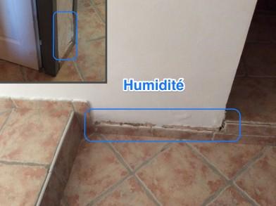 Humidité murs