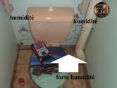 Recherche fuite évacuation de salle de bain
