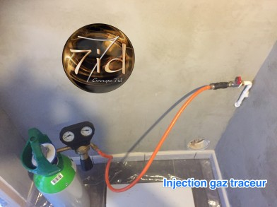 Injection de gaz dans le réseau