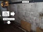 Sous-sol humide - Recherche de fuite