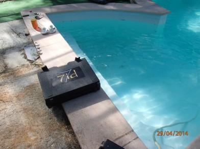 intervention sur piscine